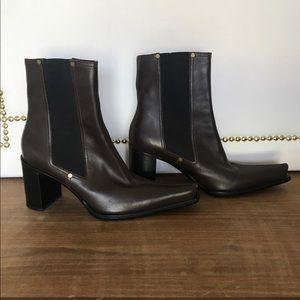 Casadei Dark Brown Boots
